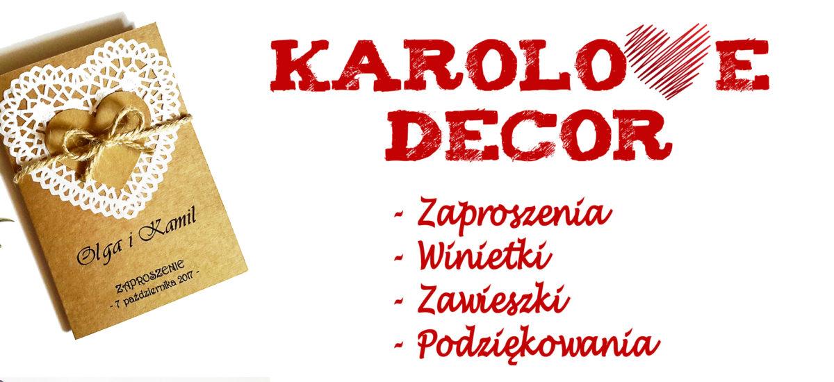 Karolove Decor – Oferta
