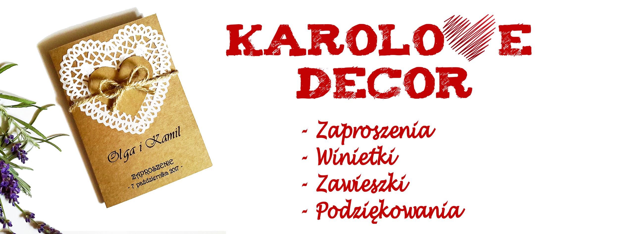 Karolove Decor – Oferta